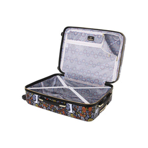 "Halina Vicky Yorke URBAN JUNGLE DOGS 24"" Dog Print Luggage-HALINA - Made with Love"
