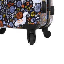 "Load image into Gallery viewer, Halina Vicky Yorke URBAN JUNGLE DOGS 20"" Carry On Dog Print Luggage-HALINA - Made with Love"