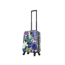 "Load image into Gallery viewer, Halina Collier Campbell GRANDIFLORA 20"" Carry On Floral Luggage-HALINA - Made with Love"