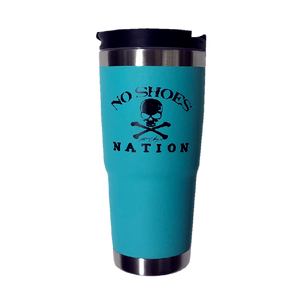 No Shoes Nation Aqua Engel Tumbler