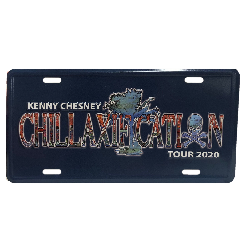 Chillaxification License Plate