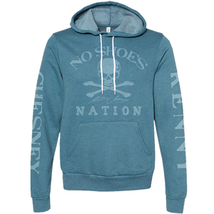 No Shoes Nation Heather Deep Teal Pullover Hoodie