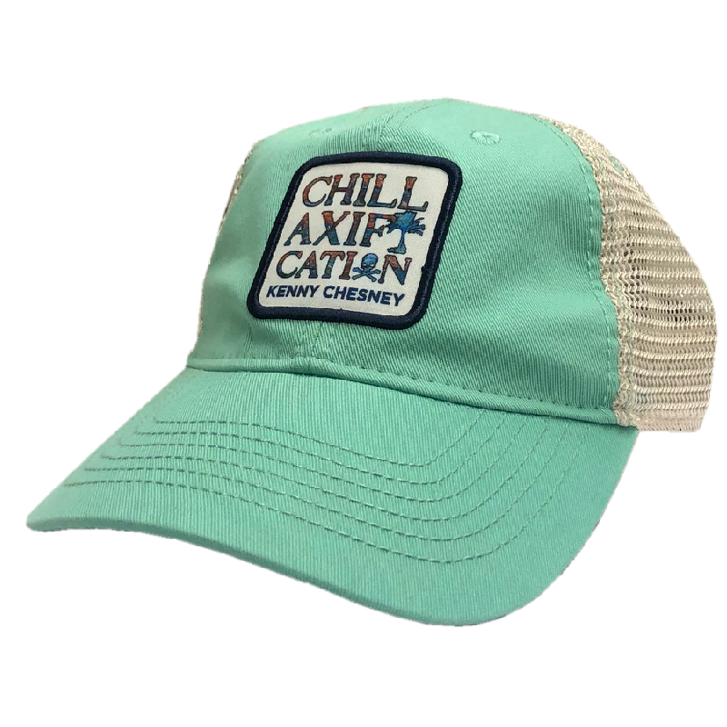 Chillaxification Mint and White Ballcap