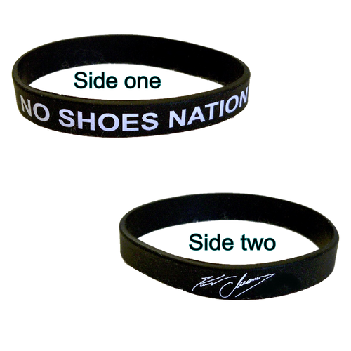 KENNY CHESNEY RUBBER BRACELET