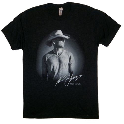 KENNY CHESNEY 2015 VINTAGE BLACK TOUR TEE