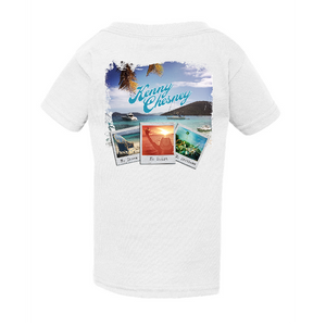 KENNY CHESNEY 2018 YOUTH WHITE TEE