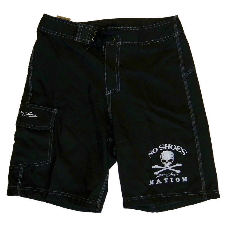 KENNY CHESNEY BLACK BOARD SHORTS