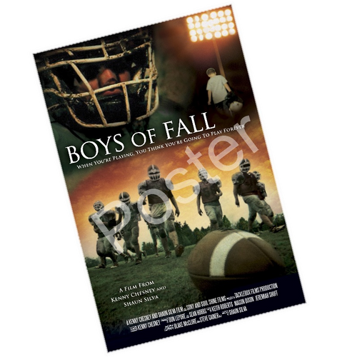 KENNY CHESNEY BOYS OF FALL MOVIE POSTER