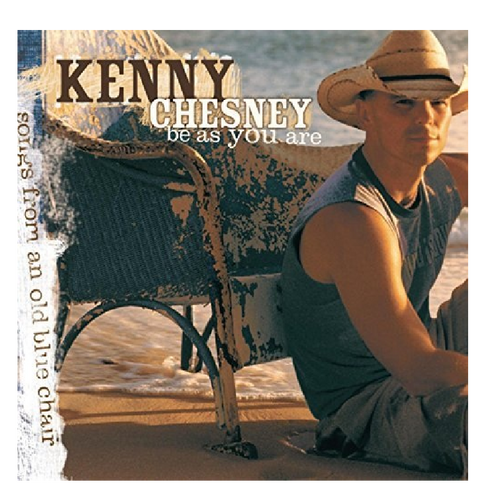 KENNY CHESNEY CD - BE AS YOU ARE