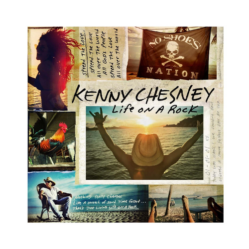 KENNY CHESNEY CD - LIFE ON A ROCK