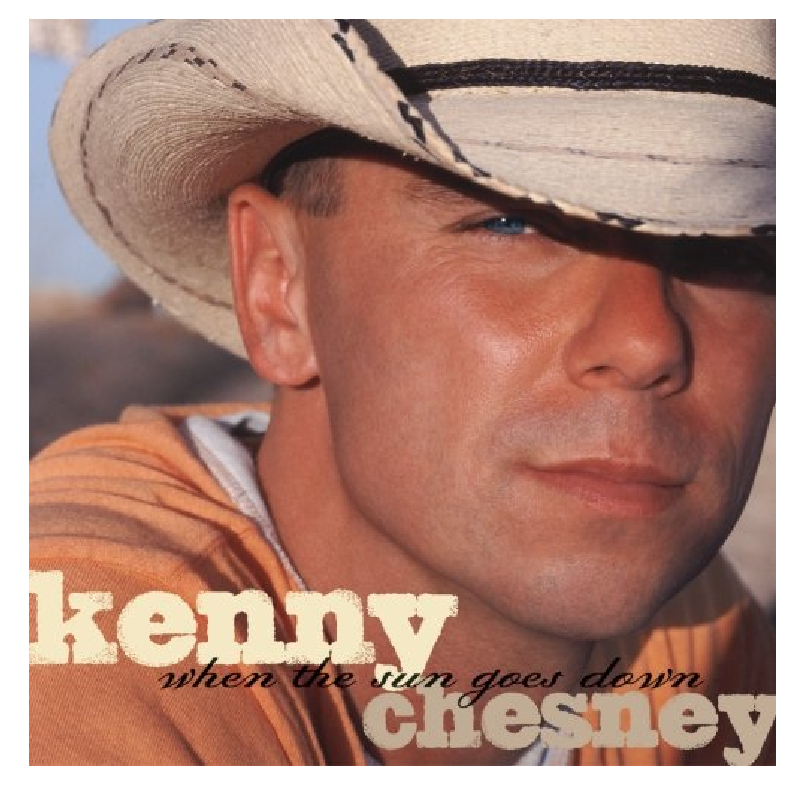 KENNY CHESNEY CD - WHEN THE SUN GOES DOWN