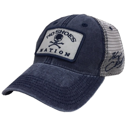KENNY CHESNEY DENIM BLUE AND GREY BALLCAP