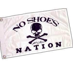 KENNY CHESNEY NO SHOES NATION WHITE FLAG-3' X 5' LARGE FLAG W/ GROMMETS