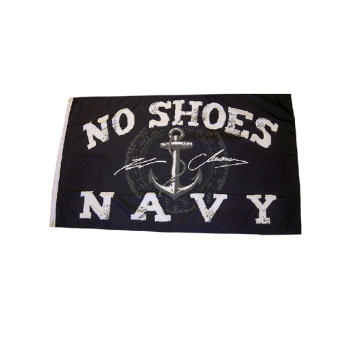 KENNY CHESNEY NO SHOES NAVY BOAT FLAG