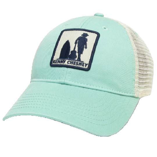 Kenny Chesney Mint and White Ballcap