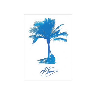 Kenny Chesney Palm Tree Die Cut Decal