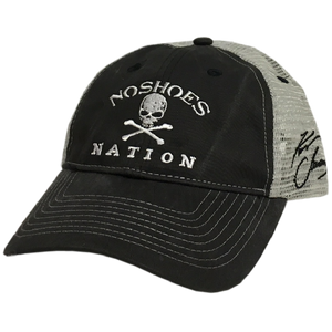 Kenny Chesney Washed Out Black and Grey Ballcap