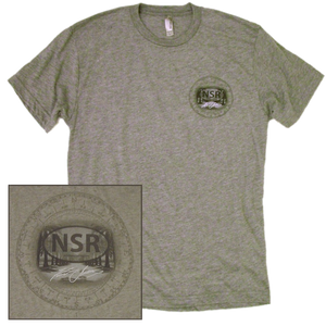 No Shoes Radio Heather Grey Tee