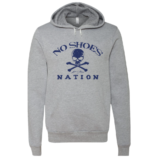 No Shoes Nation Athletic Heather Pullover Hoodie