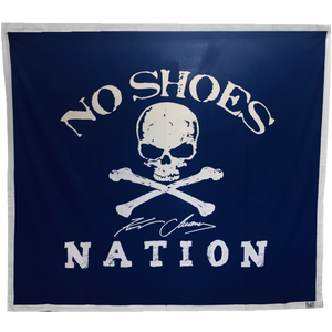 No Shoes Nation Navy Beach Sheet- ONLINE EXCLUSIVE