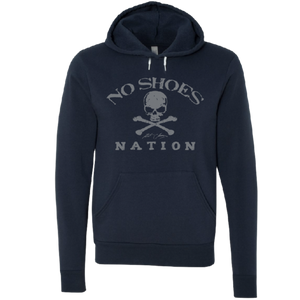 No Shoes Nation Navy Pullover Hoodie