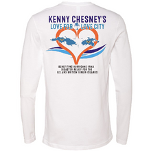 Load image into Gallery viewer, OFFICIAL KENNY CHESNEY LOVE FOR LOVE CITY LONG SLEEVE TEE