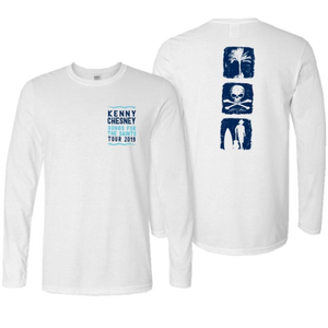 Songs For the Saints Long Sleeve White Tee