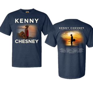 Songs For the Saints Midnight Blue Tour Tee