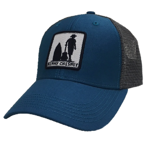 Trip Around the Sun Ocean Blue and Charcoal Ballcap