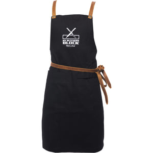 My Butchers Block Denim and Leather Apron - My Butchers Block