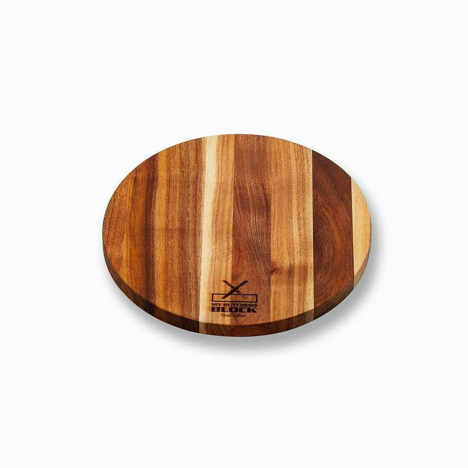 Basic Wooden Cutting Board Chopping Boards My Butcher's Block 300mm x 300mm x 20mm Brown Kynsna Blackwood
