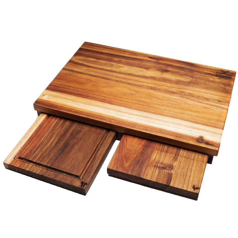 3 in 1 Chopping Board Set Chopping Blocks My Butcher's Block