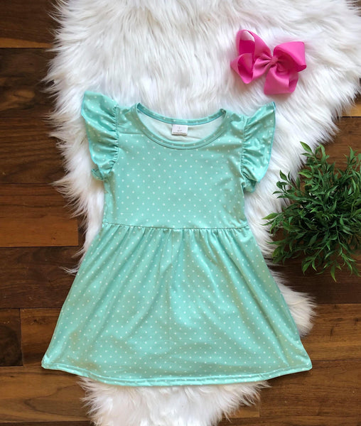 Mint Star Dress