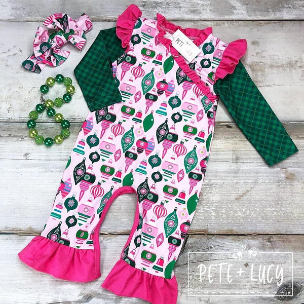 Joyful Holiday Romper
