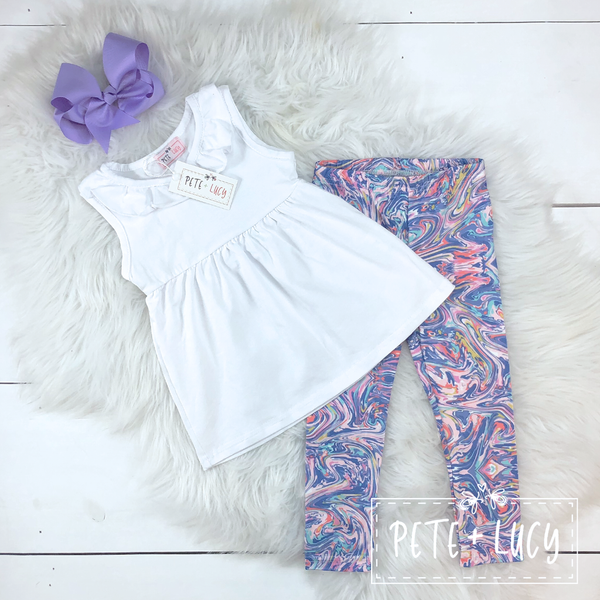 Watercolor Capri Set