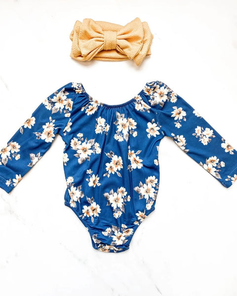 Royal Daisy Leotard