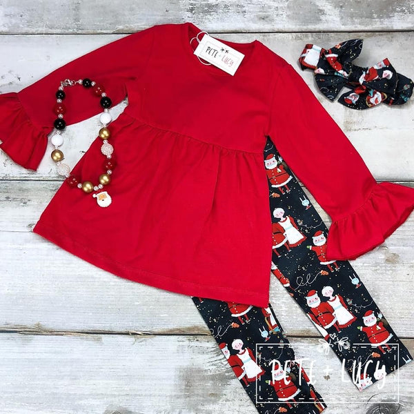 Mr. & Mrs. Claus Pants Set