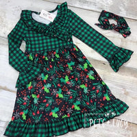 Green Mistletoe Dress