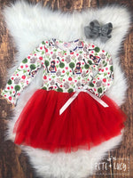 Little Red Riding Hood Tulle Dress