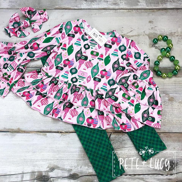 Joyful Holiday Pants Set