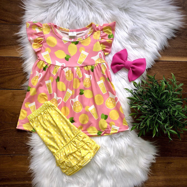 Lemon Short Set