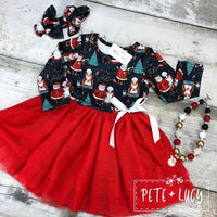 Mr. & Mrs. Claus Tulle Dress