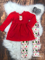 Little Red Riding Hood Pants Set