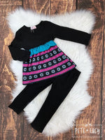 Black Diamond Pants Set