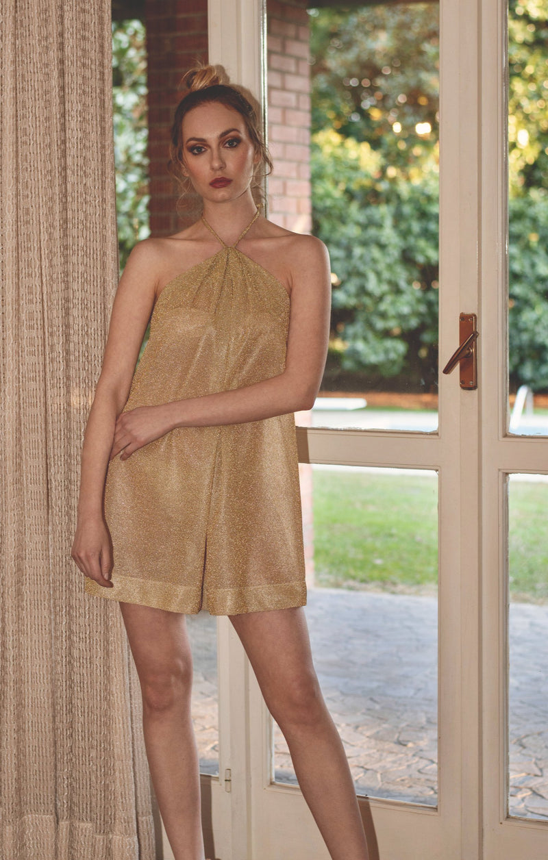 The Dress - Gold Glitter