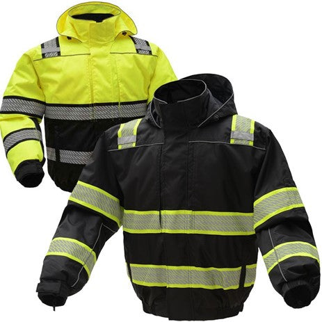 GSS SAFETY 8511/8513 ONYX 3-N-1 WINTER BOMBER JACKET