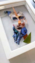 Load image into Gallery viewer, Original Collage | Warrior Mask I