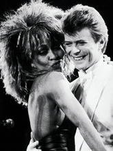 Load image into Gallery viewer, Sticker Tina Turner & David Bowie | 01 | Patch Applique