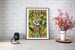 "Poster Fine Art | ""Wings of Imagination I"""
