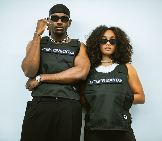 LOOKBOOK ANTIRACISM PROTECTION TACTICAL VEST
